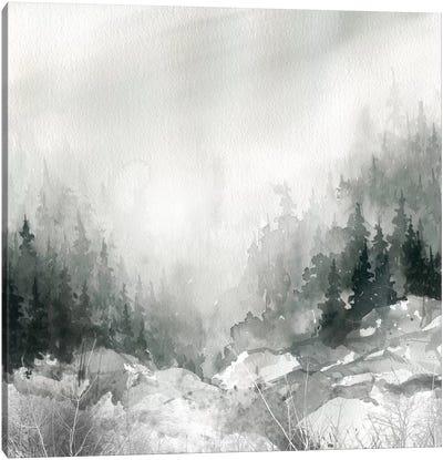 Dusk On The Mountain Canvas Art Print