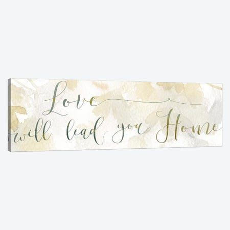Love Will Lead Canvas Print #CRO443} by Carol Robinson Art Print