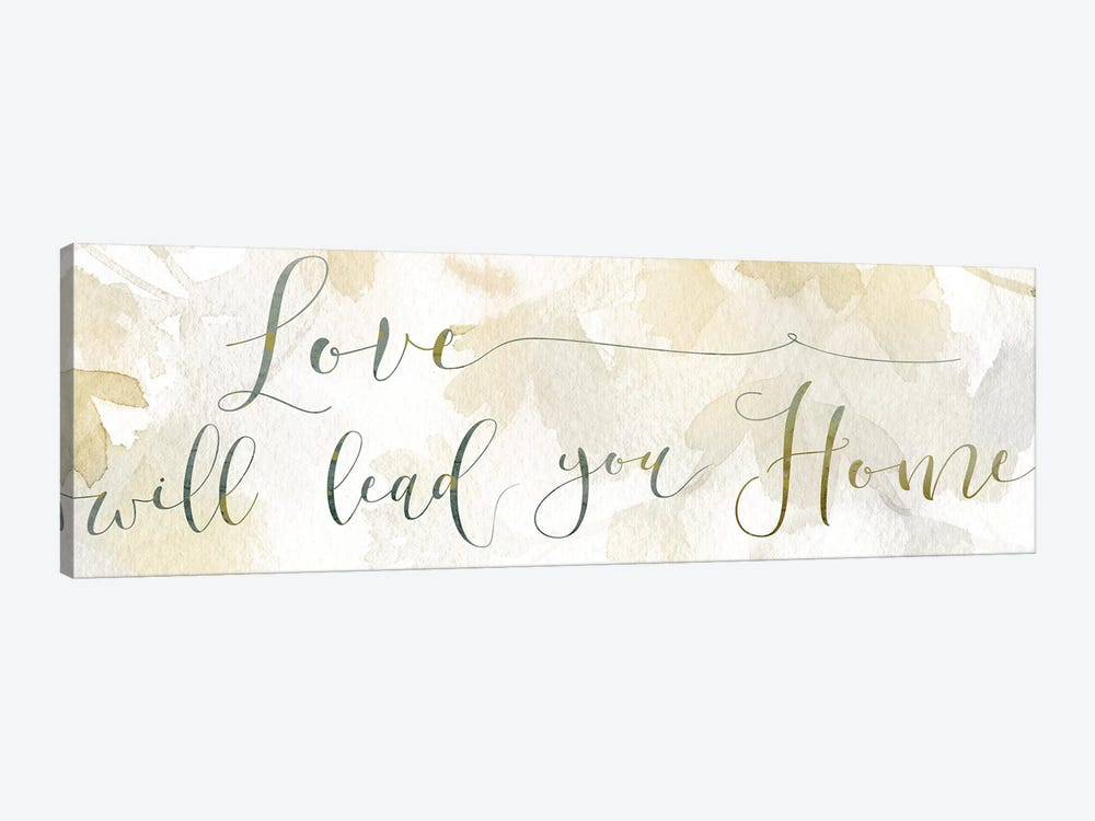 Love Will Lead by Carol Robinson 1-piece Canvas Art Print