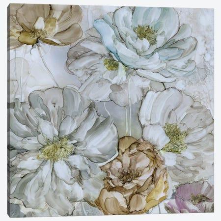 Moonlit Peonies Canvas Print #CRO444} by Carol Robinson Canvas Art