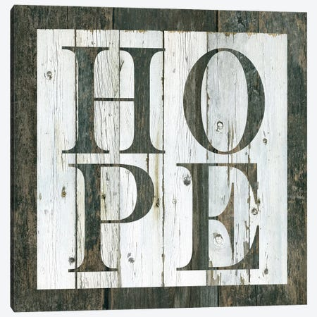 Wood Hope Canvas Print #CRO453} by Carol Robinson Canvas Wall Art