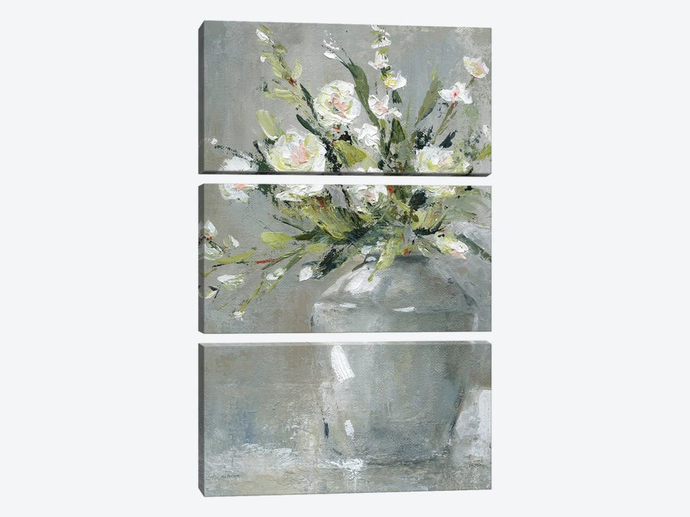 Country Bouquet II by Carol Robinson 3-piece Art Print