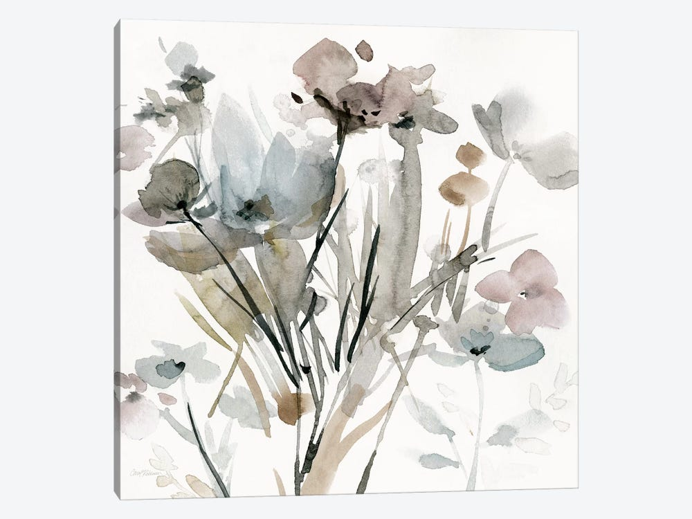 Dainty Blooms I by Carol Robinson 1-piece Canvas Wall Art