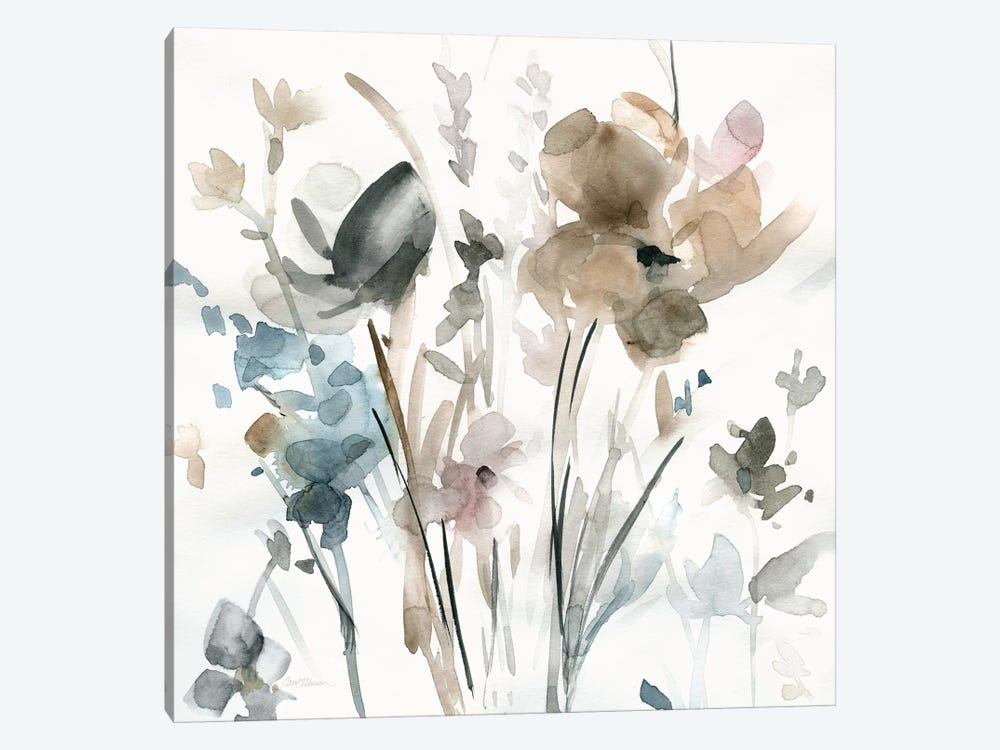 Dainty Blooms II 1-piece Canvas Print