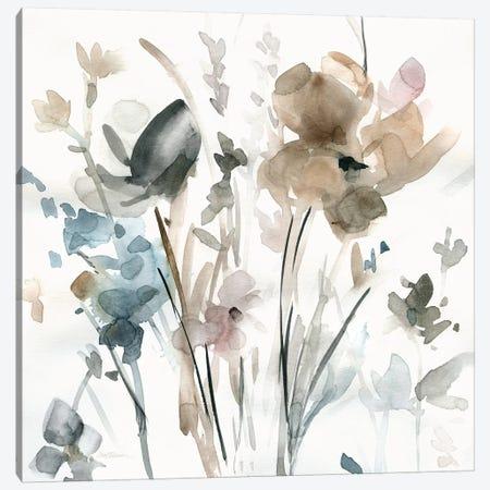 Dainty Blooms II Canvas Print #CRO458} by Carol Robinson Canvas Wall Art