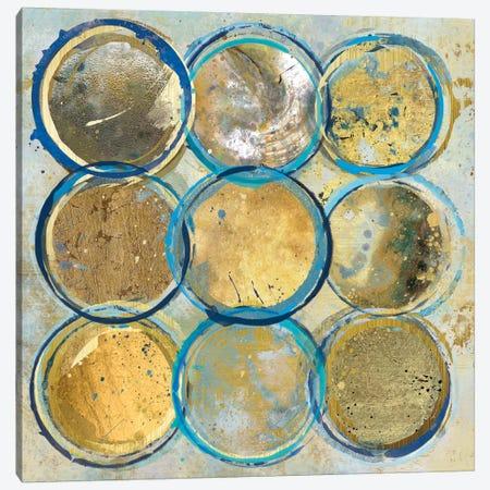 Indigo Gold Canvas Print #CRO45} by Carol Robinson Canvas Print