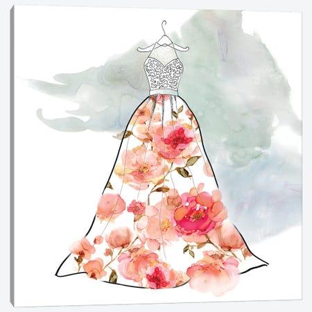 Fashionable Florals III Canvas Print #CRO461} by Carol Robinson Canvas Print