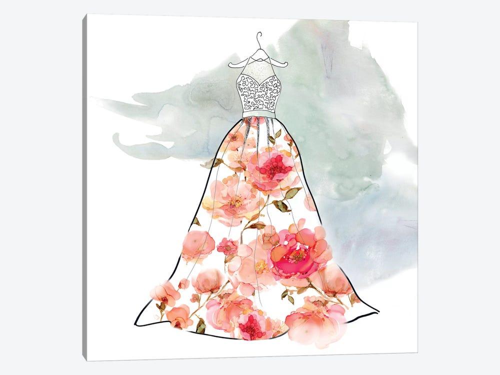 Fashionable Florals III by Carol Robinson 1-piece Canvas Art Print