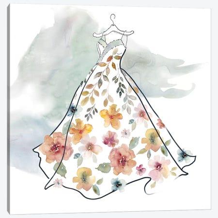 Fashionable Florals IV Canvas Print #CRO462} by Carol Robinson Canvas Art Print