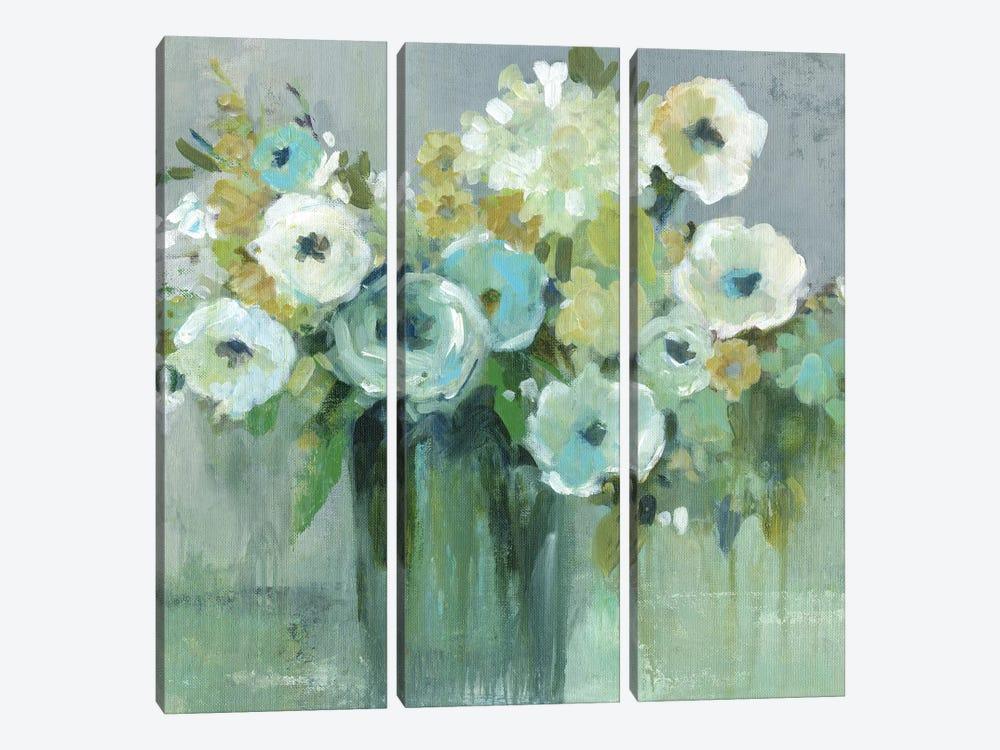 Fresh Cut Emeralds by Carol Robinson 3-piece Canvas Print