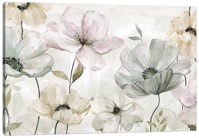 Garden Grays Canvas Art Print