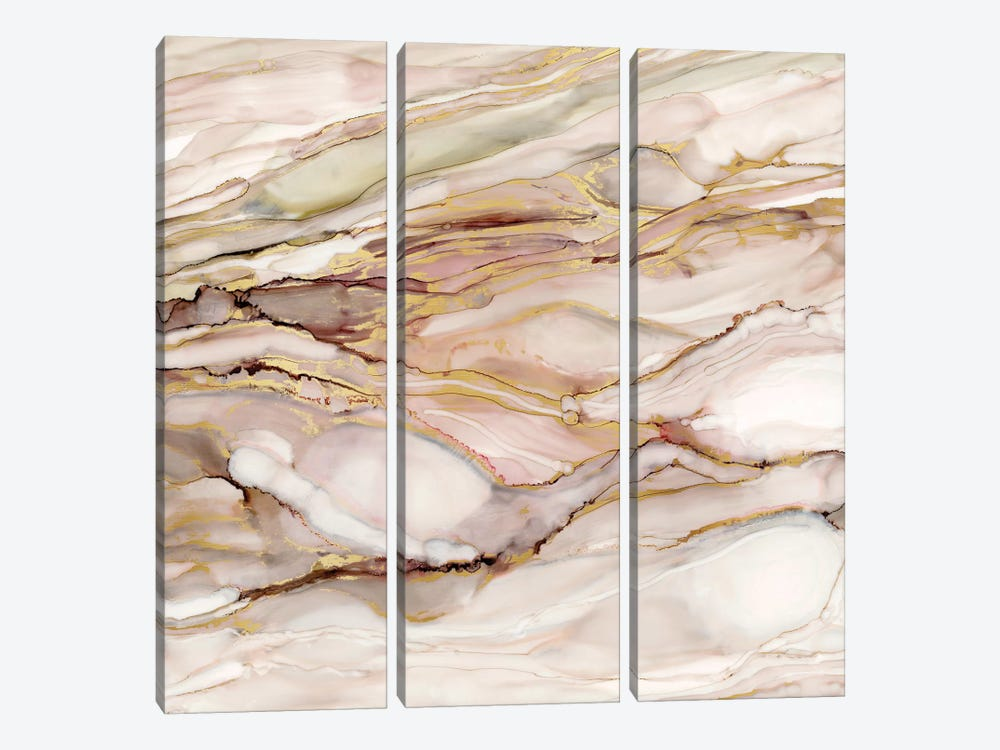 Graceful Marble I by Carol Robinson 3-piece Canvas Art Print