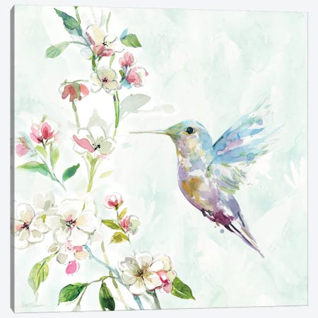 Hummingbird II Canvas Print #CRO469} by Carol Robinson Canvas Art Print