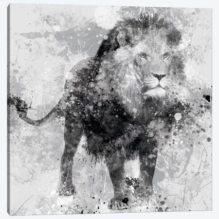 Lion Canvas Print #CRO46} by Carol Robinson Canvas Art Print
