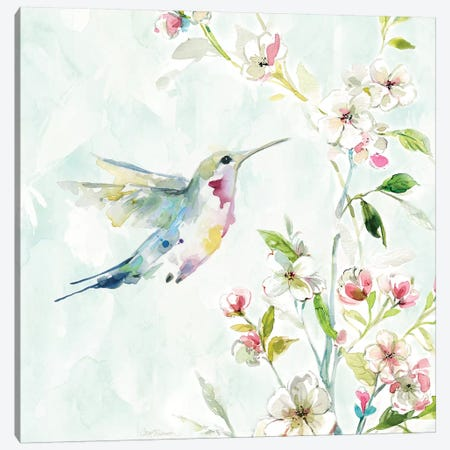 Hummingbird III Canvas Print #CRO470} by Carol Robinson Canvas Artwork