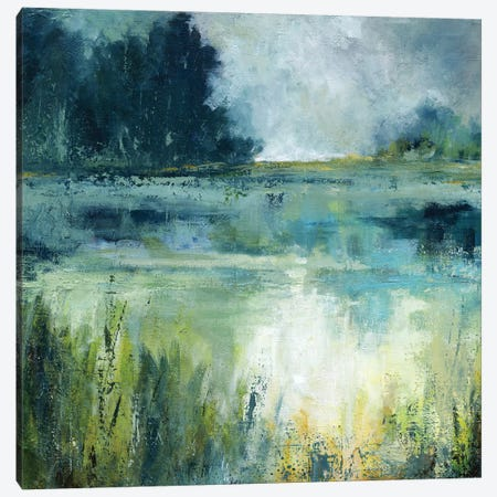 Reflections Edge Canvas Print #CRO477} by Carol Robinson Canvas Art Print