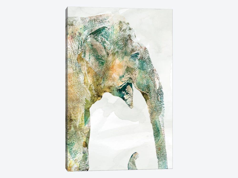 African Colors Elephant by Carol Robinson 1-piece Canvas Wall Art