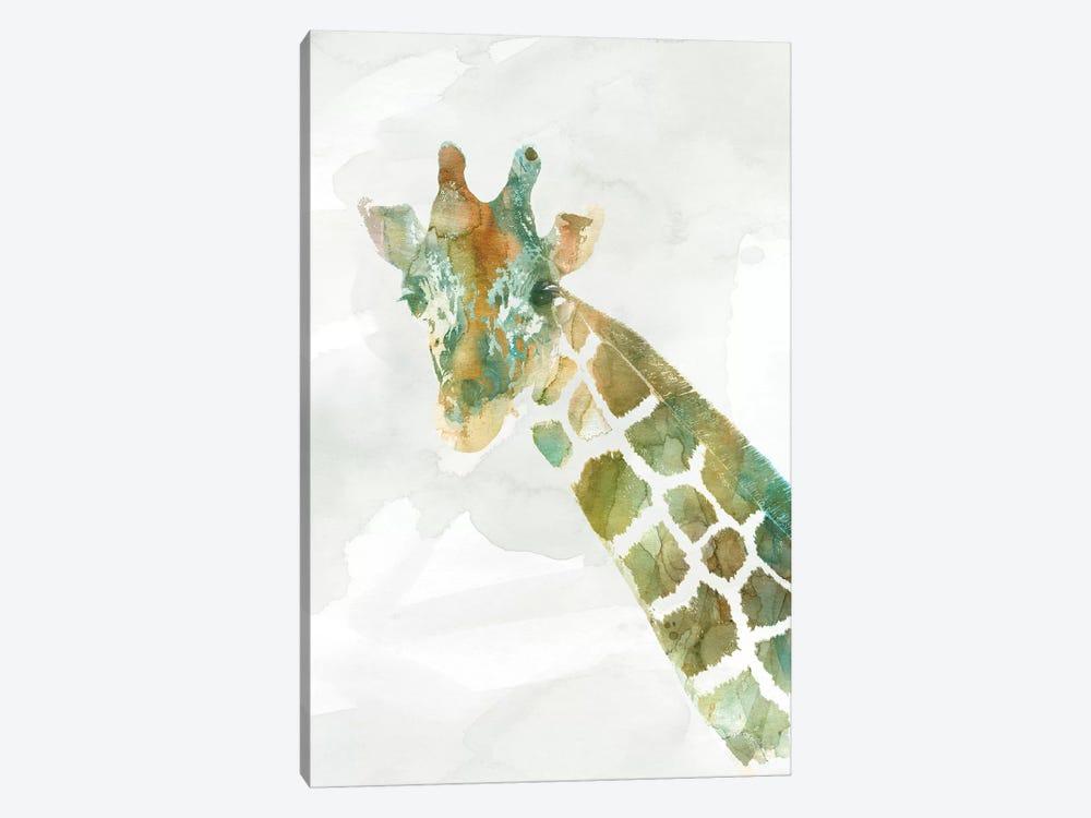 African Colors Giraffe by Carol Robinson 1-piece Art Print