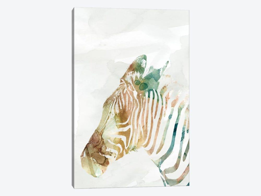 African Colors Zebra by Carol Robinson 1-piece Art Print