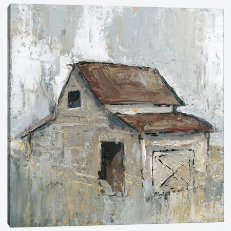 Barn At Midday Canvas Print #CRO490} by Carol Robinson Canvas Wall Art