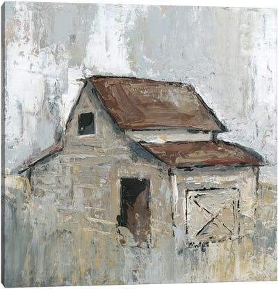 Barn At Midday Canvas Art Print