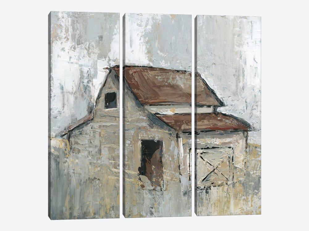 Barn At Midday by Carol Robinson 3-piece Art Print