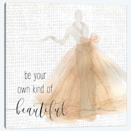 Be Beautiful Canvas Print #CRO491} by Carol Robinson Canvas Wall Art