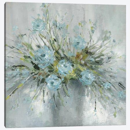 Blue Bouquet III Canvas Print #CRO493} by Carol Robinson Canvas Artwork