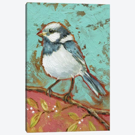 Bright Bird I Canvas Print #CRO495} by Carol Robinson Art Print