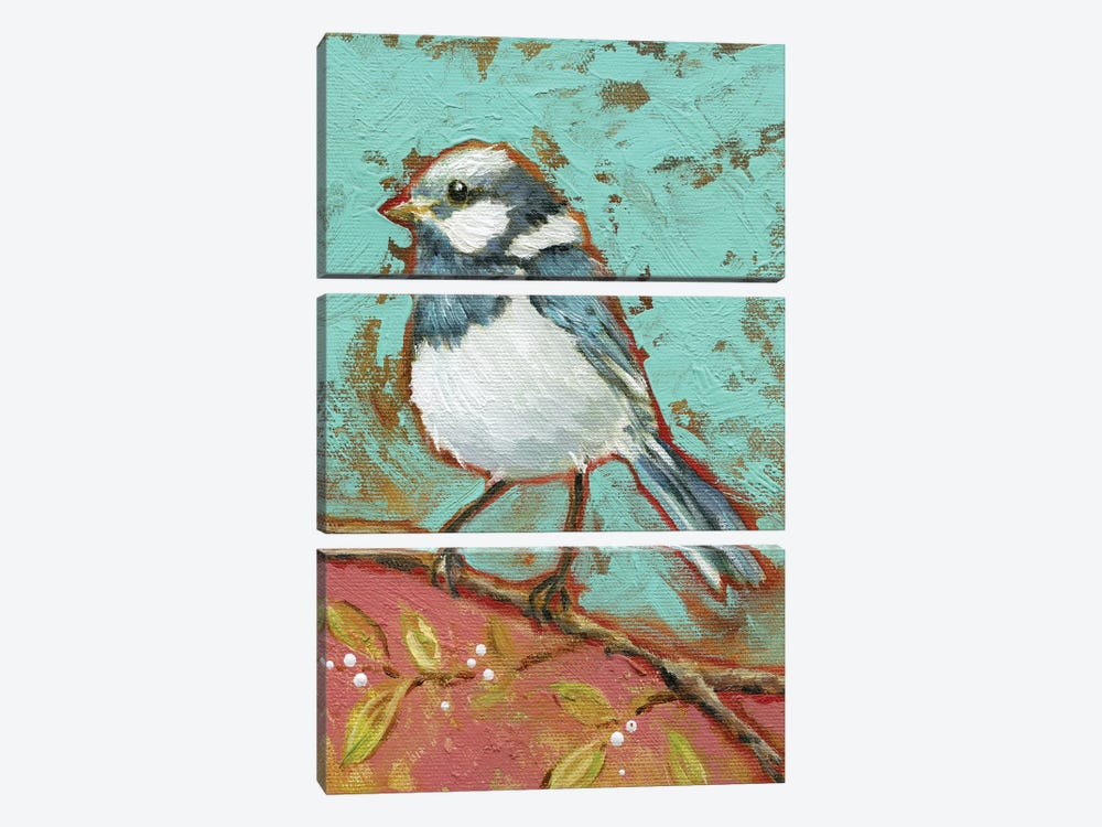 Bright Bird I by Carol Robinson 3-piece Canvas Art