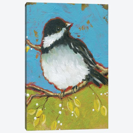 Bright Bird II Canvas Print #CRO496} by Carol Robinson Art Print