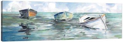 Caught At Low Tide I Canvas Art Print