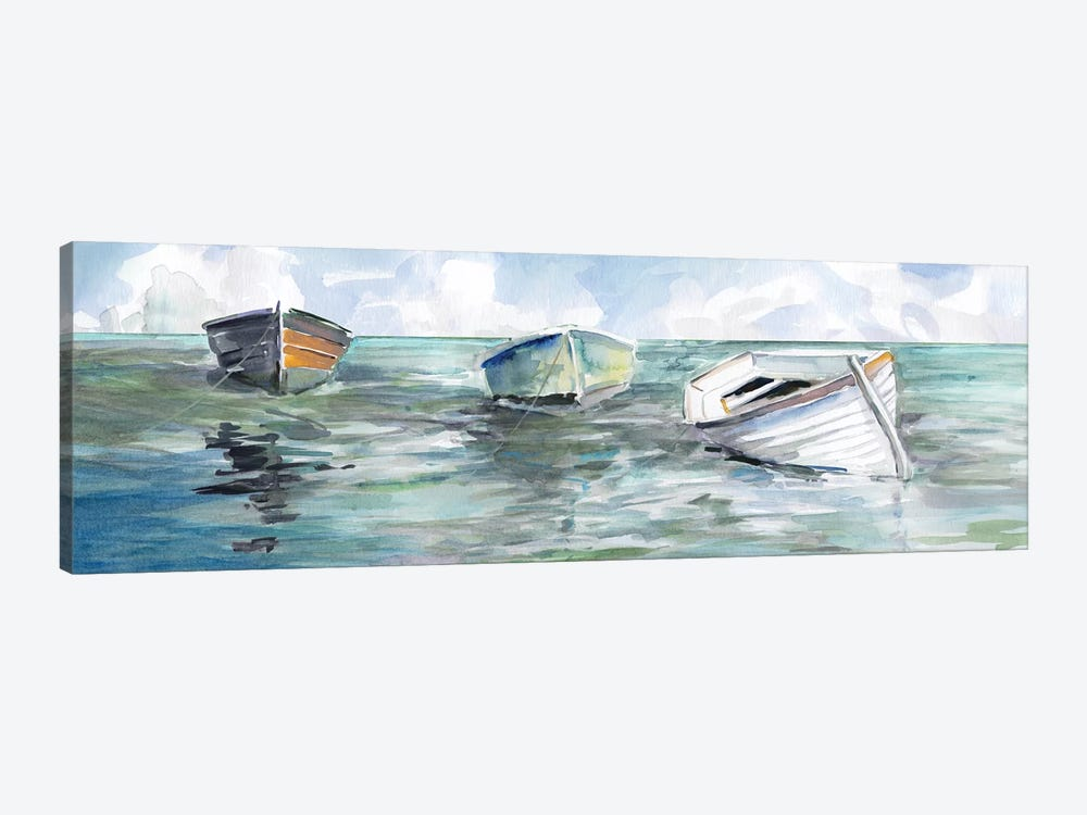 Caught At Low Tide I by Carol Robinson 1-piece Canvas Art