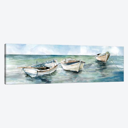 Caught At Low Tide II Canvas Print #CRO498} by Carol Robinson Canvas Art
