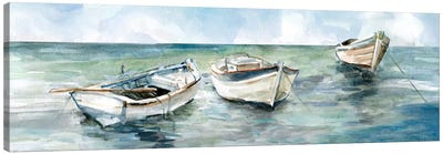 Caught At Low Tide II Canvas Art Print
