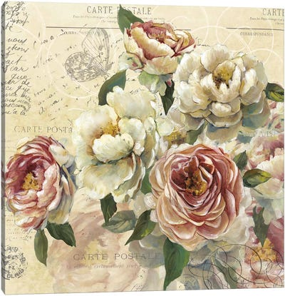 Scented Letter I Canvas Art Print
