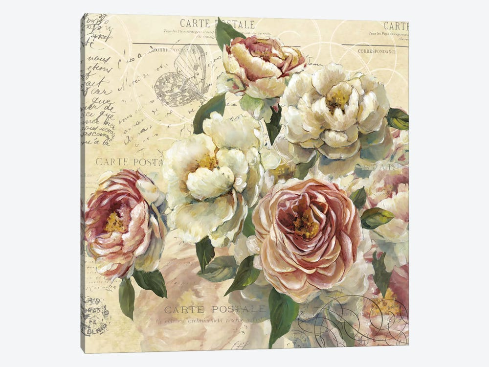Scented Letter I by Carol Robinson 1-piece Canvas Wall Art