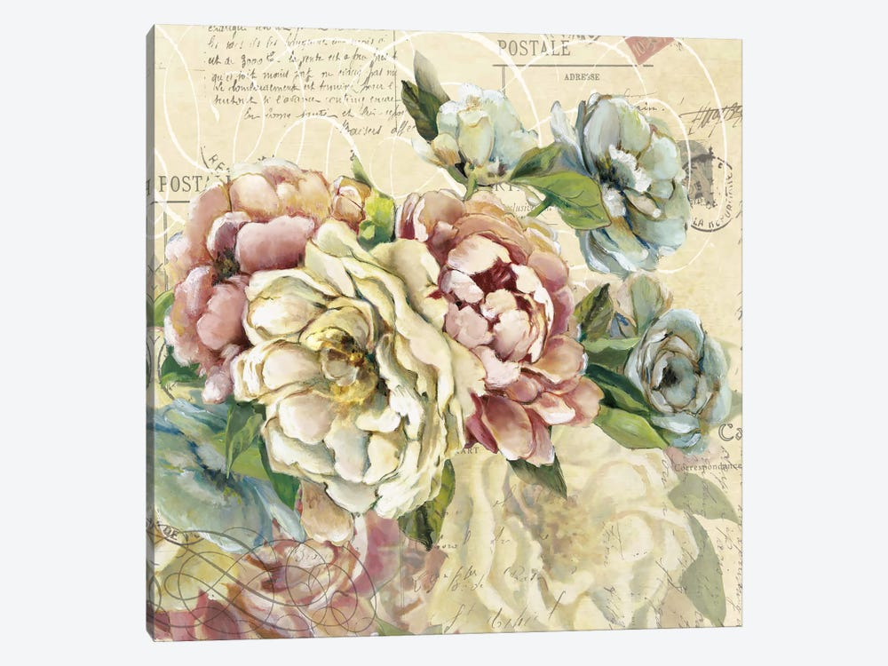 Scented Letter II by Carol Robinson 1-piece Canvas Artwork