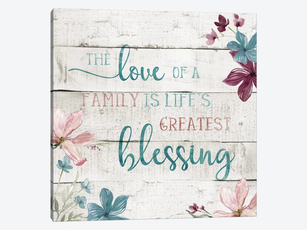 Family Blessing by Carol Robinson 1-piece Canvas Artwork