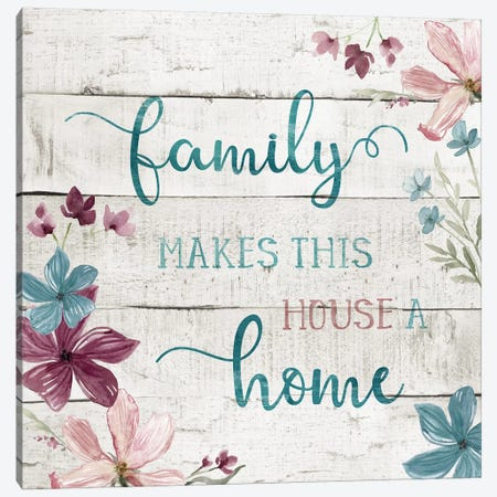 Family Home Canvas Print #CRO513} by Carol Robinson Canvas Art Print