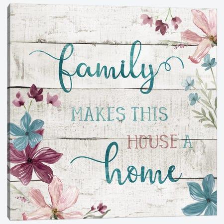 Family Home Canvas Print #CRO513} by Carol Robinson Canvas Art Print