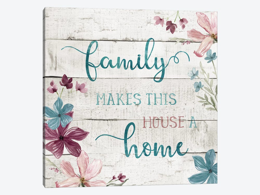 Family Home by Carol Robinson 1-piece Art Print