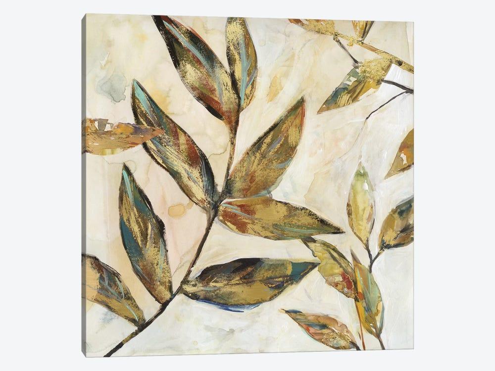 Gilded Leaves I by Carol Robinson 1-piece Canvas Wall Art