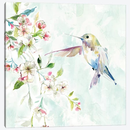 Hummingbird IV Canvas Print #CRO523} by Carol Robinson Canvas Wall Art