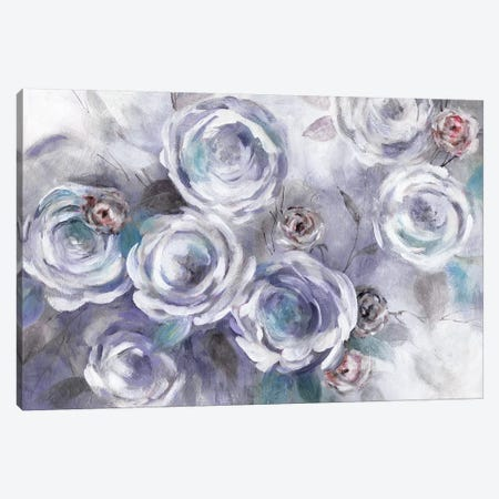 Iced Flowers Canvas Print #CRO524} by Carol Robinson Canvas Art Print