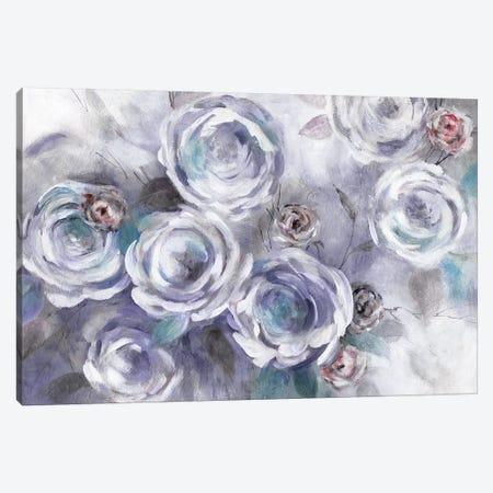 Iced Flowers Canvas Print #CRO524} by Carol Robinson Canvas Art Print