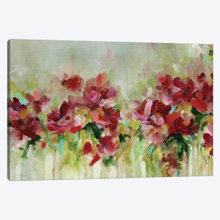 Playful Garden Canvas Print #CRO536} by Carol Robinson Canvas Artwork