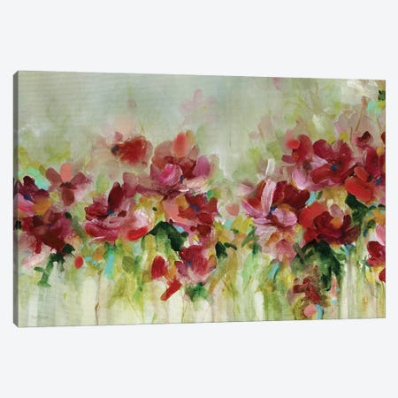 Playful Garden Canvas Print #CRO536} by Carol Robinson Canvas Artwork