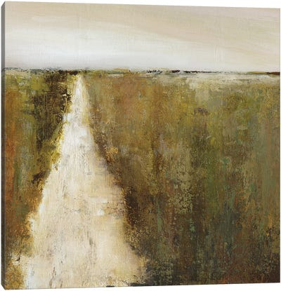 Road Home Canvas Art Print