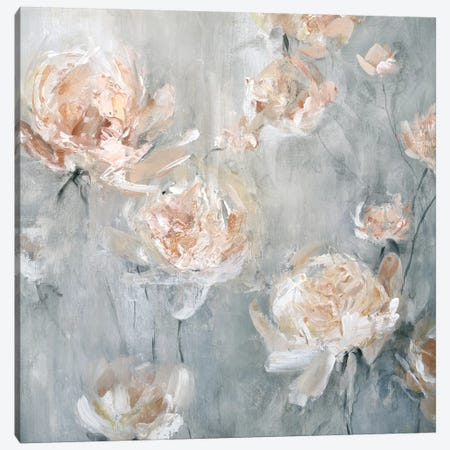 Rose Mist Canvas Print #CRO541} by Carol Robinson Canvas Artwork